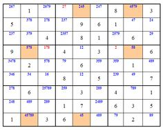 Sudoku diabolique avec 17 valeurs initiales tir de la liste gordon royle sudoku sword - Grille de sudoku diabolique ...