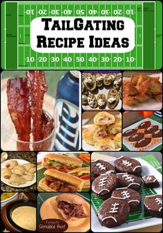 Perfect recipes for TailGating!