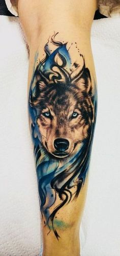 The 60 best wolf tattoos - new tattoo - # . - The 60 best wolf tattoos – new tattoo – - Wolf Tattoo Forearm, Wolf Tattoo Back, Small Wolf Tattoo, Wolf Tattoo Sleeve, Arrow Tattoo, Lion Tattoo, Sleeve Tattoos, Tattoo Wolf, Pretty Skull Tattoos