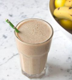 Post workout cramps and soreness often come from a lack of potassium. What better way to get your potassium fix than the classic banana? This quick and easy re