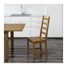 """S""""LLSKAP Esstisch IKEA Die klar lackierte Oberfläche ist leicht"""