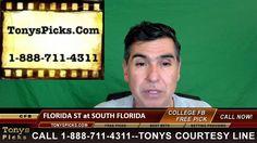 Florida St Seminoles vs. South Florida Bulls Pick Prediction  College Fo...