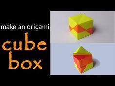 @ Make an Origami Cube Box - YouTube