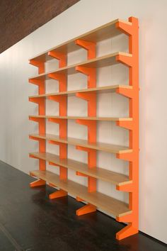 Modern Shelving - Simple Design - Wood and Painted Wood Shelf
