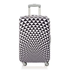 Pop Prism luggage cover by Loqi Luggage Sizes, Luggage Accessories, Pop Collection, Baggage Claim, Luggage Cover, Suitcase, Medium, Bending, Vibrant