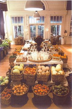 Cafe/Bakery/Produce, this is what my shop would have looked like if I followed those dreams, you just never know! <3