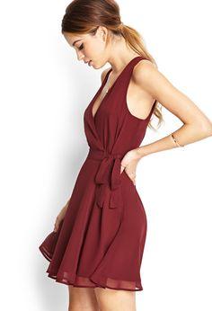 Forever 21 beautiful burgundy dress
