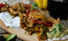 Cookbook Recipes, Cooking Recipes, Mexican Food Recipes, Ethnic Recipes, Fajitas, Street Food, Tacos, Chicken, Meat