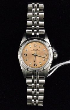 822 Rolex 67230 Ladies Wrist Watch Oyster Perpetual Automatic Rose Dial Stainless #Rolex #Dress #watch #wristwatch #lady's #woman's #womens #Formal    #for #sale