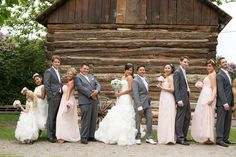 fun photo with your wedding party