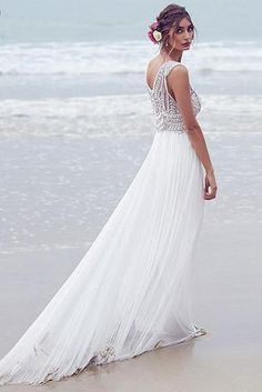 Fresh Inspired by the Anna Campbell Madison Boho chic Hand Beaded Beach Wedding Gown Copy