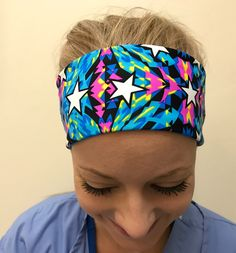 A personal favorite from my Etsy shop https://www.etsy.com/listing/550107423/yoga-headband-fitness-workout-headband