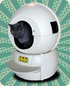 Ah, the beloved Litter Robot. How I miss you. If one of our kittens hadn't grown up so big (enormous, even!), we'd still have you with us.