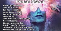 Detoxification of the Third Eye (Pineal Gland) Holistic Healing, Natural Healing, Decalcify Pineal Gland, Pineal Gland Facts, Pineal Gland Detox, Chakras, Excuse Moi, Mind Body Soul, Chakra Healing