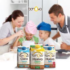 Cocinar en familia será más divertido y fácil.  #Bonovo #SaldelCascarón #Huevos #Cocina #Food #Comida #Saludable #Delicioso