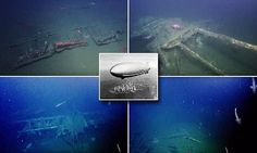 A team of specialists have used remotely operated underwater vehicles to explore the wreck of the USS Macon, a lighter-than-air rigid airship that was the Navy's last flying aircraft carrier in the 1930s