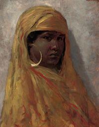 Ancient Moorish Paintings | Moorish girl