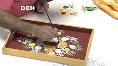 6° clase de pintura decorativa - YouTube