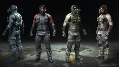 ArtStation - Afterpulse - game character - Paratrooper, Mauricio Garces