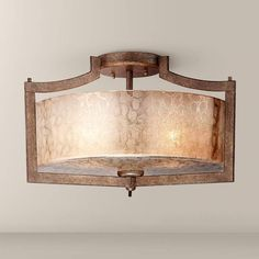 """MINKA LAVERY Minka Clarte Collection 17"""" Wide Panta Iron Ceiling Light $240 + AN EXTRA 15% OFF AT CHECKOUT - USE PROMO CODE: HELLOFALL19 FREE SHIPPING OR PICK UP - WEBSITE: GlowOnSunset.Net"""