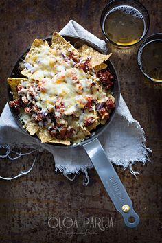 Nachos con pollo y salsa barbacoa | Nina's Kitchen | Bloglovin'