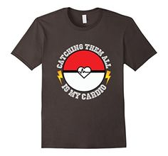 My Cardio  Pokemon Go T-shirt  available in various sizes and colors for men, women and youth