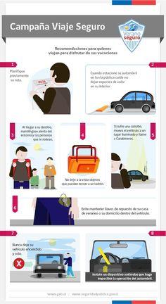 Consejos para un viaje seguro