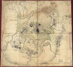 Boston Antique Maps Wall Art
