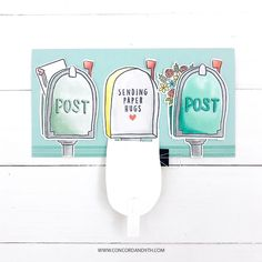 I am here to share with you a few fun interactive card designs. All of these cards feature pull tab surprises. Large Mailbox, Jennifer Mcguire Ink, Label Image, Concord And 9th, White Heat, Sending Hugs, Interactive Cards, Flower Patch, Sketch Inspiration