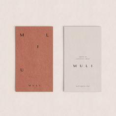 Branding for Muli by Estudio Supermundano Collateral Design, Graphic Design Branding, Stationery Design, Advertising Design, Identity Design, Corporate Design, Tag Design, Print Design, Design Cars