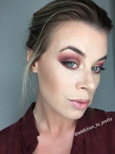 Reddish Smokey Eye using Anastasia Beverly Hills Modern Renaissance Palette #modernrenaissance #makeup #abh #beauty #smokeyeye