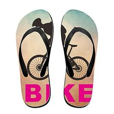 Shehe Cool Men Bike Unisex High Quality Beach Flipflops Sandals L * You can get more details by clicking on the image.