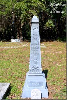 Southern Graves: White Bronze Obelisk for John Mason Giles (Tombstone Tuesday)