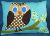 Miss Hoot Pillow