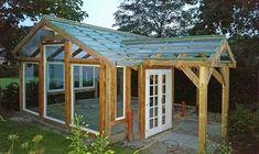 garagenwand mauern – Google-Suche Pergola With Roof, Gazebo, Shed, Outdoor Structures, Earth, Garden, Greenhouses, Chicken, Google