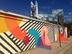 The Baltimore Mural Program was created in 1975 to make Baltimore neighborhoods more attractive, instill a sense of pride, provide employment for local artists in their own field, combat graffiti in neighborhoods, and engage young people in the beautification of their own communities.