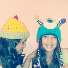 gorro cupe cacke y monster