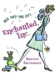 Enchanted, Inc by Shanna Swendson. Urban fantasy for adults. Cute and clean novel about a woman starting work at a magic company.