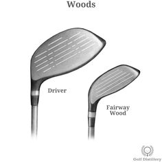 Types of Golf Clubs - Illustrated Guide into Golf Club Types | Golf Distillery Golf Terms, Woods Golf, Taylormade, Golf Ball, Distillery, Golf Clubs, Type