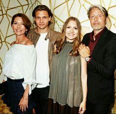 Mads Mikkelsen & family