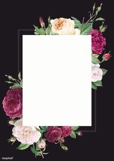 Floral wedding invitation mockup illustration premium image by rawpixel com blush wedding invitations