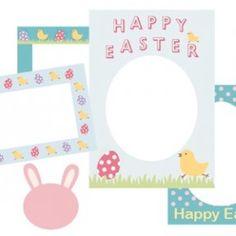 Happy Easter Scrapbook Frames