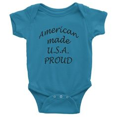 dc1f310d8 AMERICAN MADE Infant organic short sleeve one-piece American Made, Harry  Potter, Onesies