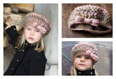 Are you looking for an adorable crochet project for little ladies? This Crochet Puff Stitch Hat with Bow Free Pattern may be a great choice for you.