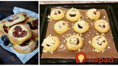 Slivkové očká s tvarohom: Tieto koláčiky sú také úžasné, že nestihnú ani vychladnúť, pečiem vždy aspoň na dva plechy! Tiramisu, Muffin, Breakfast, Food, Cakes, Basket, Morning Coffee, Muffins, Meal