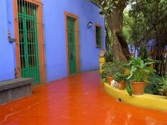 Blue House of the Mexican artist, Frida Kahlo