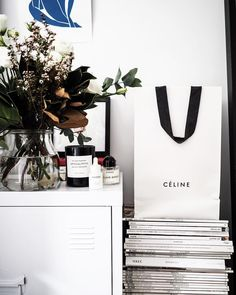 """121 Likes, 6 Comments - ; (@maddvv) on Instagram: """"Serial (paper) bag hoarder, but how could you not when the branding is so chic"""""""