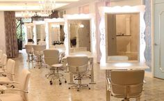luxury home based hair salons | Feel Like A French Princess At This Chic Boutique Salon!