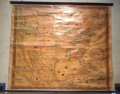 Wall Map: COLTON'S UNITED STATES OF AMERICA, 1853.  A rare find! | eBay