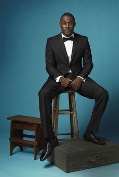 Idris Elba too damn sexy! Black Is Beautiful, Gorgeous Men, Beautiful People, Simply Beautiful, Idris Elba, Sharp Dressed Man, Well Dressed Men, Par Ideal, Handsome Black Men
